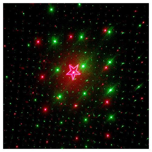 Proyector Láser 4 Imágenes Rojo y Verde para Interior 4