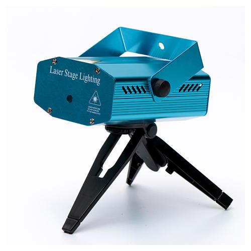 Proiettore laser 4 immagini rosso verde per interno 5