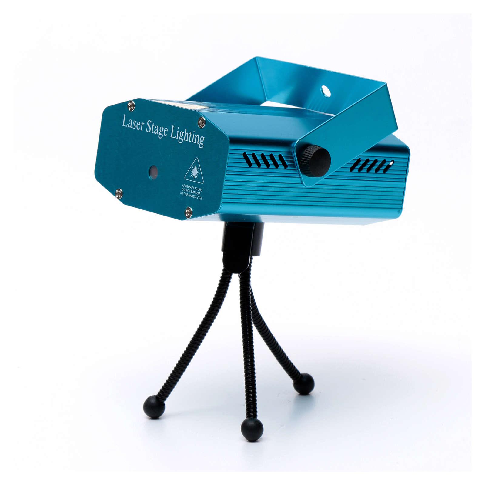 Proiettore laser per interi 12 immagini verde rosso 3