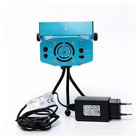 Proiettore laser per interi 12 immagini verde rosso s6