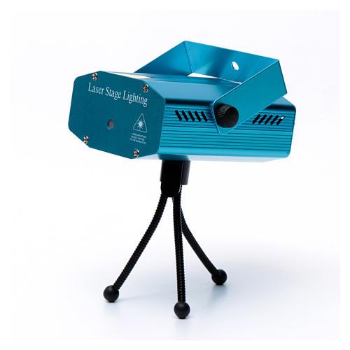 Proiettore laser per interi 12 immagini verde rosso 5