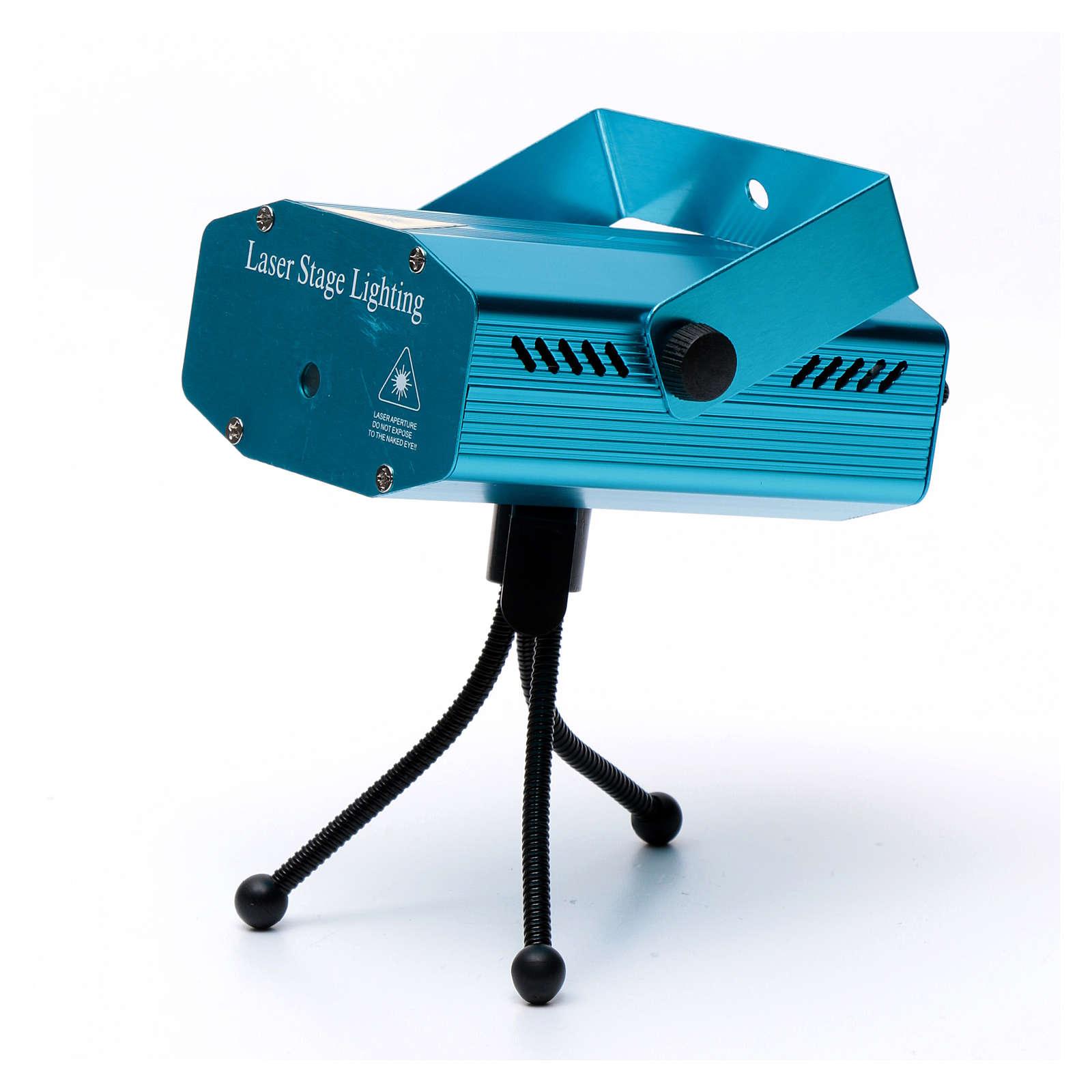 Proiettore laser per interno puntini rosso verde 3