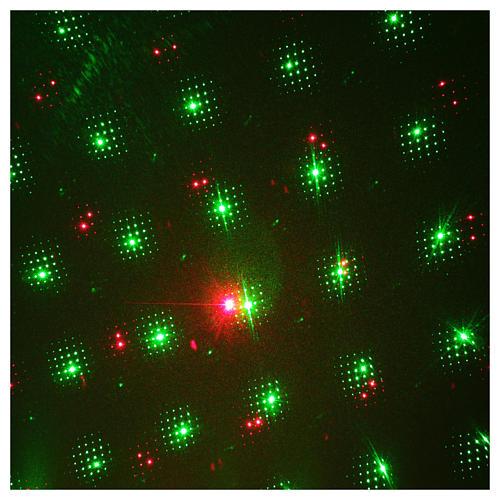 Proiettore laser per interno puntini rosso verde 4