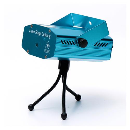 Proiettore laser per interno puntini rosso verde 5