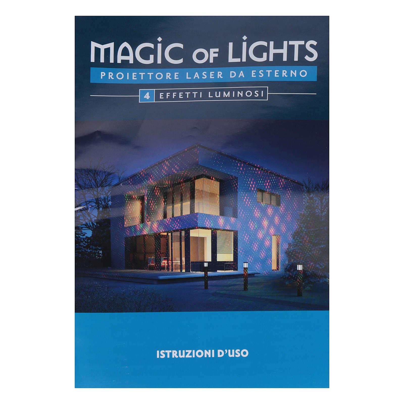 Laser-Projektor, Punkte mit 4 Effekten, für innen und außen | Online ...