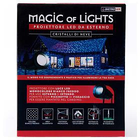 Christmas Lights Projector snowflake, outdoor/indoor  s8
