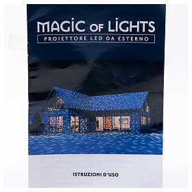 Christmas Lights Projector snowflake, outdoor/indoor  s9