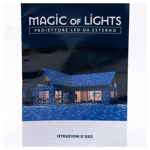 Christmas Lights Projector snowflake, outdoor/indoor  9