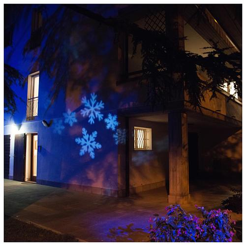 christmas lights projector snowflake outdoorindoor 1 - Christmas Light Projector Outdoor