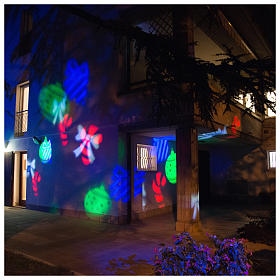 Christmas projector leds internal and external use s6