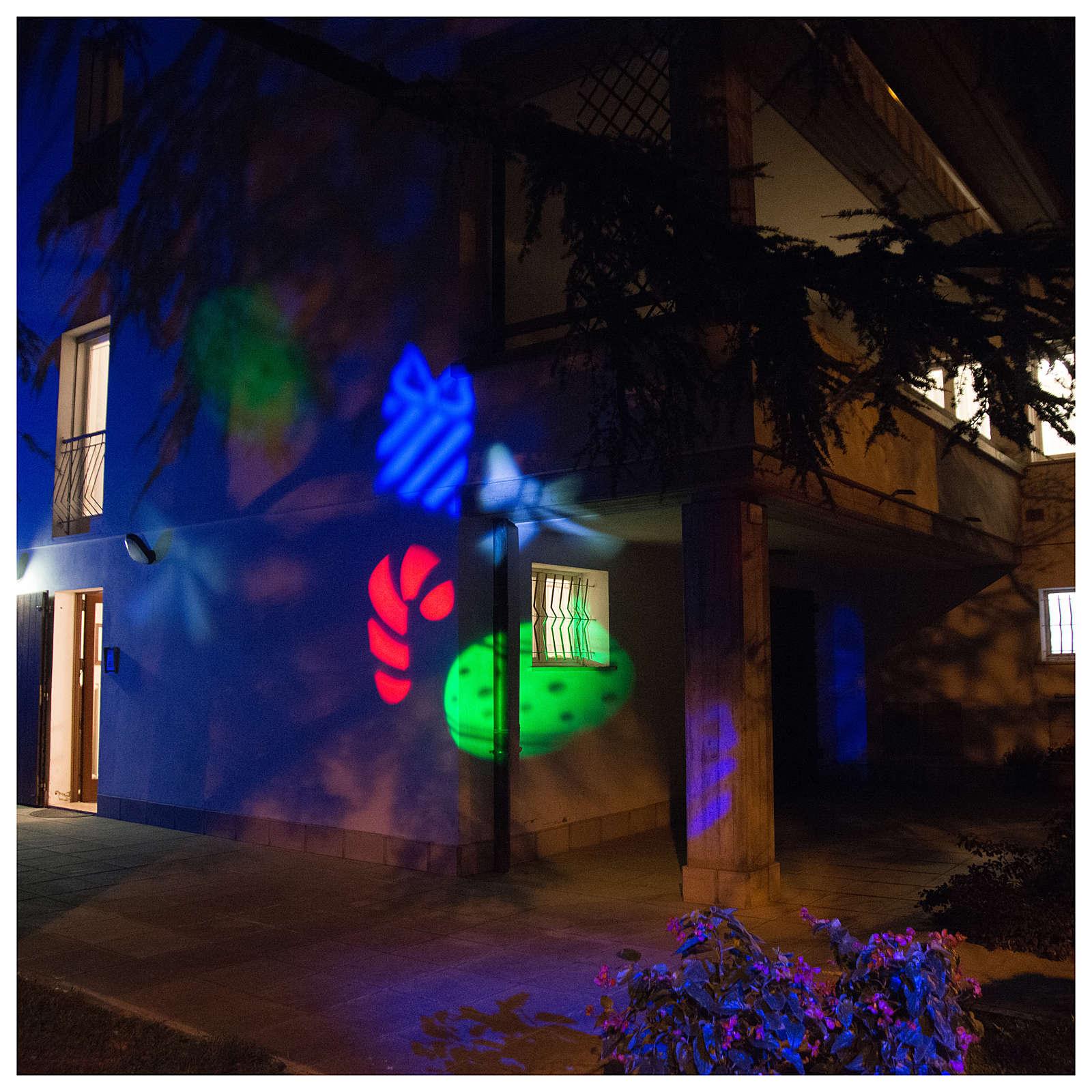 Proyector Imágenes Luminosas Navideñas Interior y Exterior 3