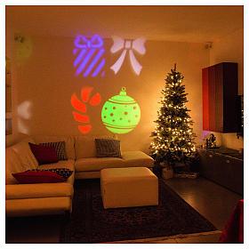 Proyector Imágenes Luminosas Navideñas Interior y Exterior s2
