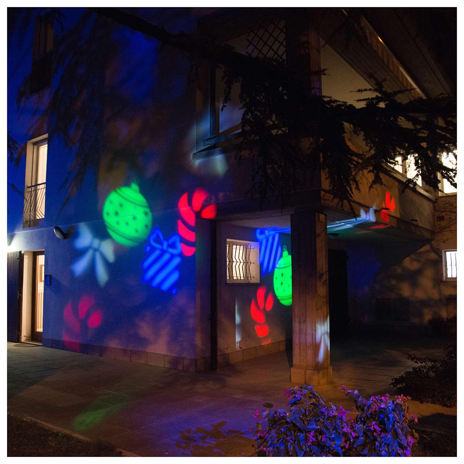 Projecteur led Christmas intérieur extérieur 3