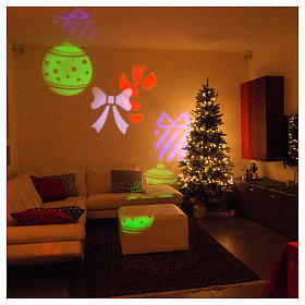 STOCK Christmas projector leds internal and external use s4