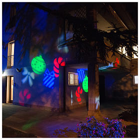 Christmas projector leds internal and external use s5