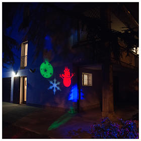 Christmas projector led winter theme internal and external use s1
