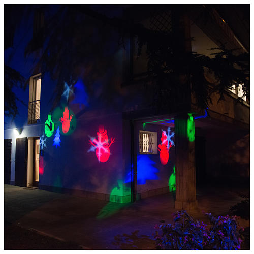 Christmas projector led winter theme internal and external use 6