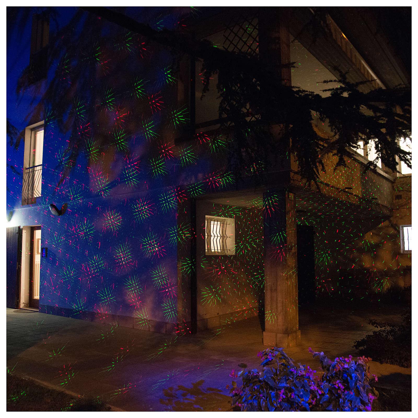 Projecteur laser points avec crépusculaire intérieur extérieur 3