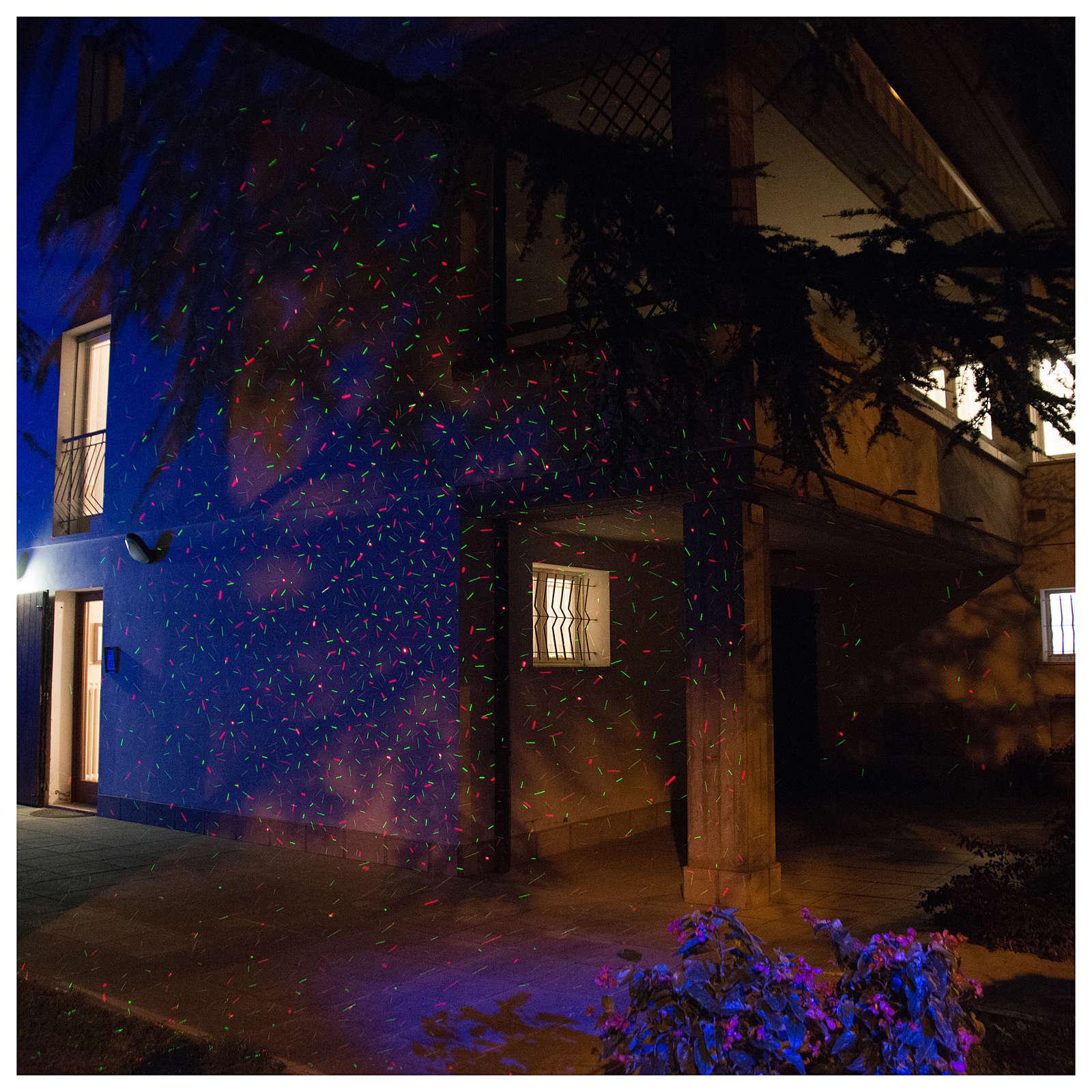 Projetor LED pontos com sensor crepuscular interior exterior 3