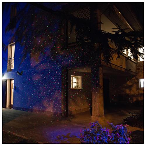 Projetor LED pontos com sensor crepuscular interior exterior 1