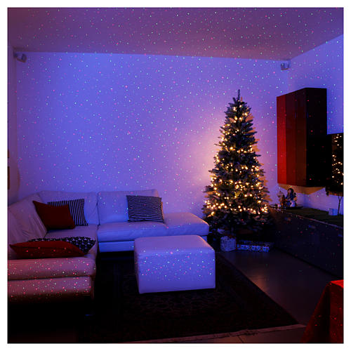 Christmas projector laser lights with dots twilight internal and external use 2