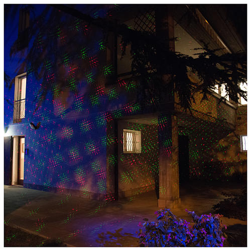 Christmas projector laser lights with dots twilight internal and external use 5