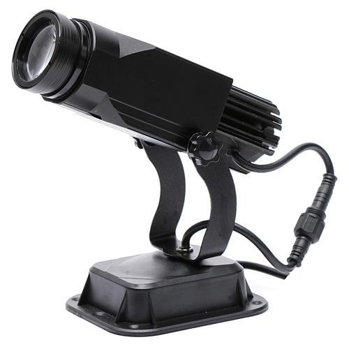 Projetor LED pro fixo 20W com escritas USO EXTERIOR 2