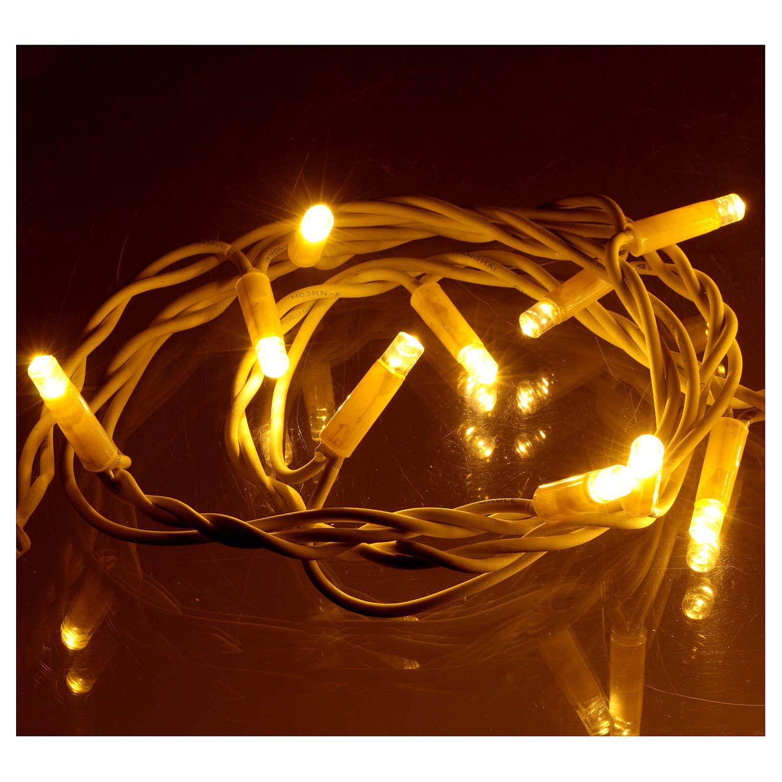 300 LED Lights Jumbo warm light 30 meters 3