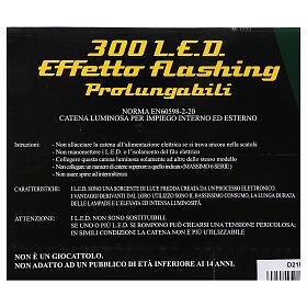 300 LED Lights Jumbo warm light 30 meters s7