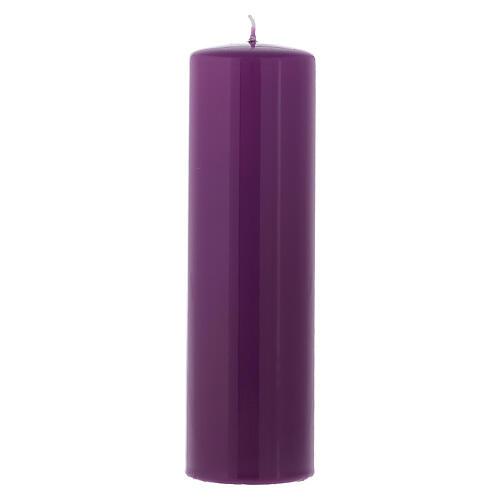 Set 4 Kerzen für Advent 6x20cm glatt 2