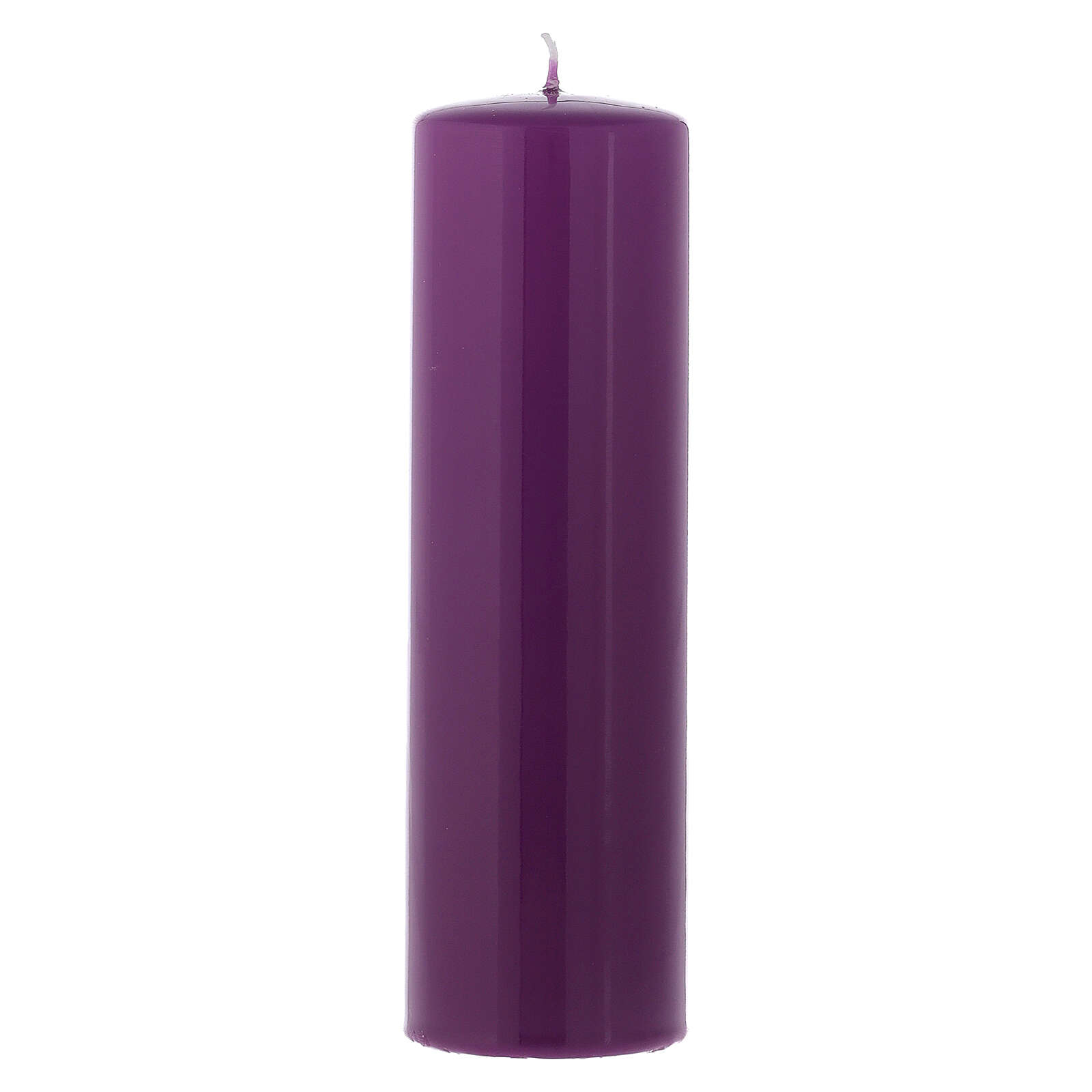 Kit of shiny Advent candles 20x6 cm 3