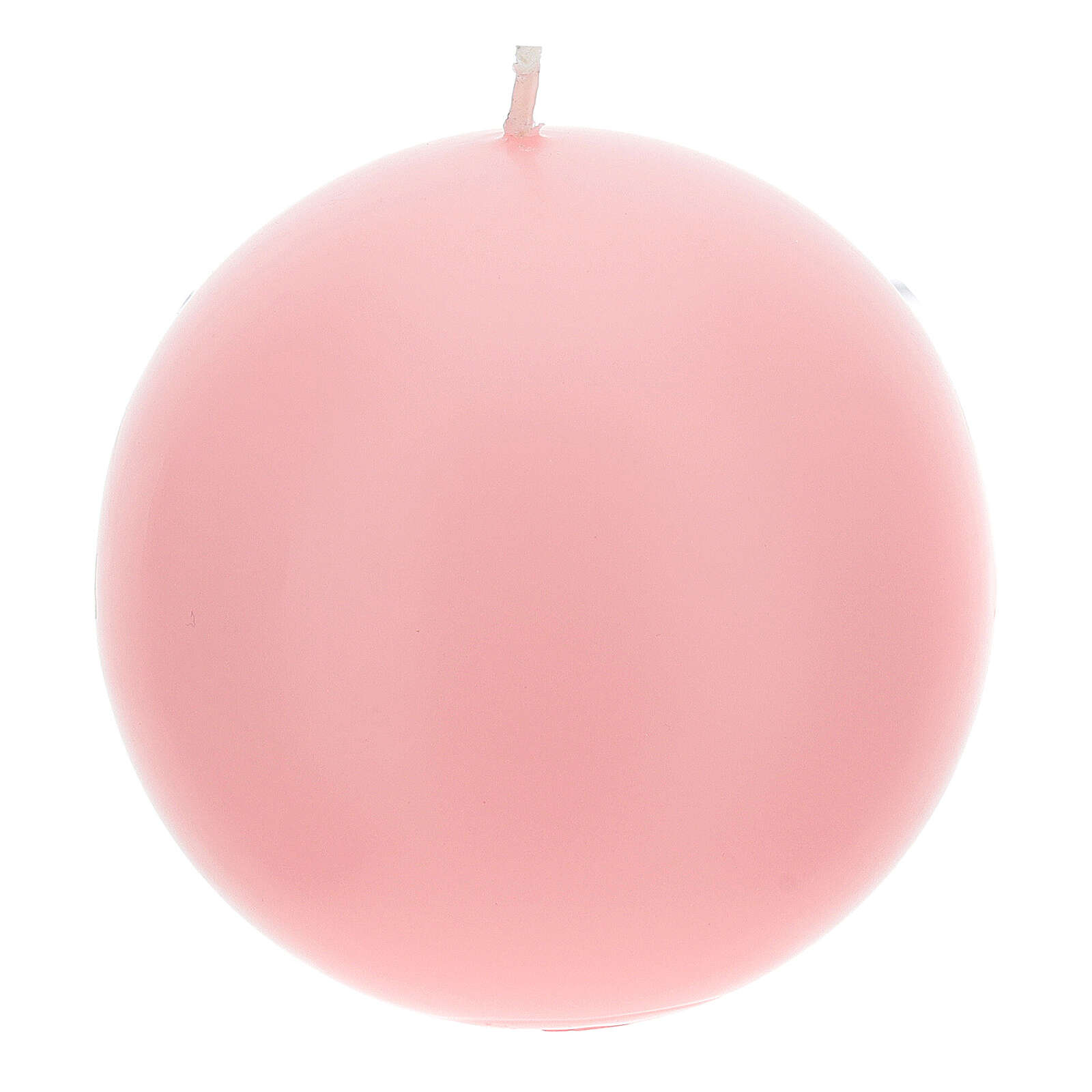 Bougies pour Avent sphère mate 4 pièces 10 cm 3