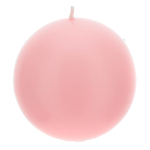 Bougies pour Avent sphère mate 4 pièces 10 cm 2