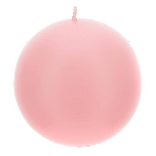 Candele per Avvento sfera opaca 4 pezzi 10 cm 2