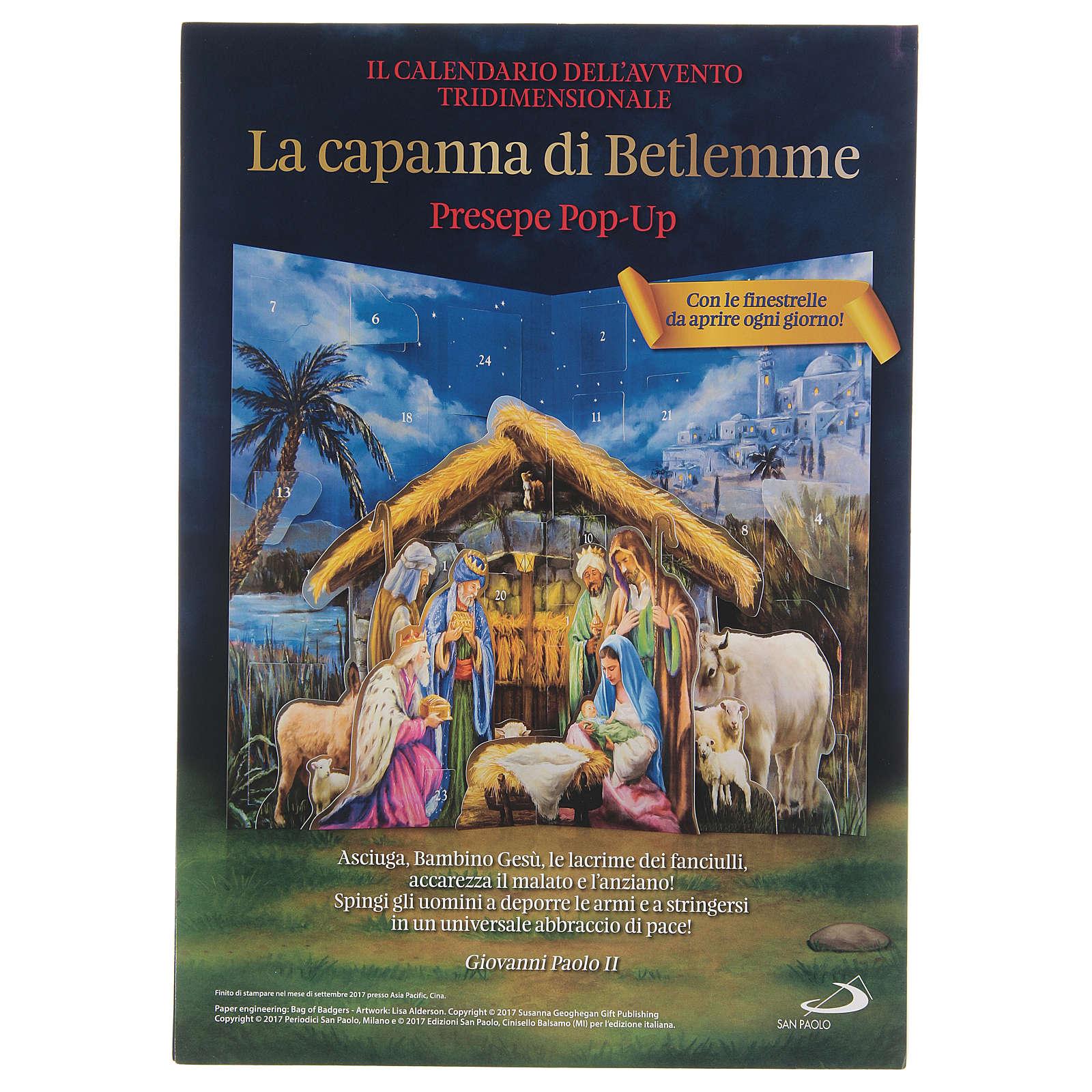 Calendario del Adviento la cabaña de Belén 3