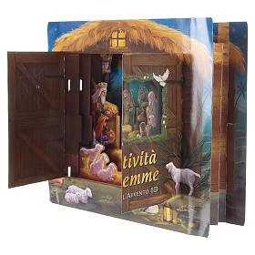 Calendrier de l'Avent tridimensionnel Nativité de Bethléem s3