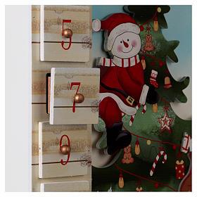 Calendario Avvento 48 cm con paesaggio s4