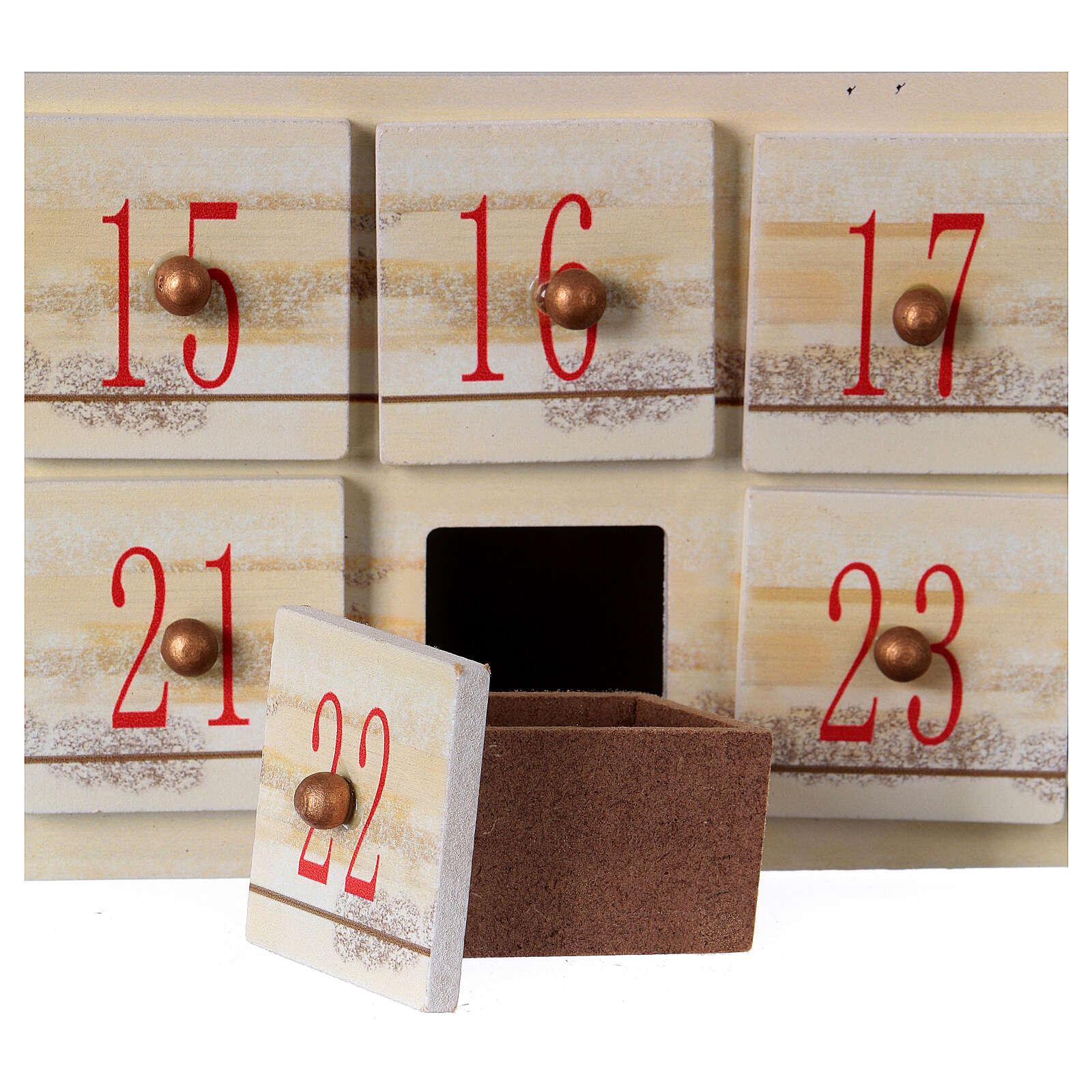 Kalendarz Adwentowy 48 cm z krajobrazem 3