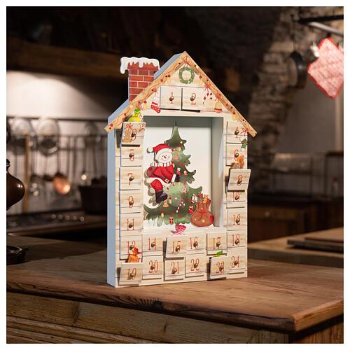 Kalendarz Adwentowy 48 cm z krajobrazem 6