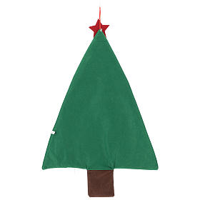 Advent calendar in the shape of a Christmas tree h. 90 cm s3