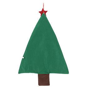 Calendrier Avent en forme de sapin de Noël h 90 cm s3