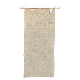 Calendario Avvento in stoffa con cervi 110 cm s3