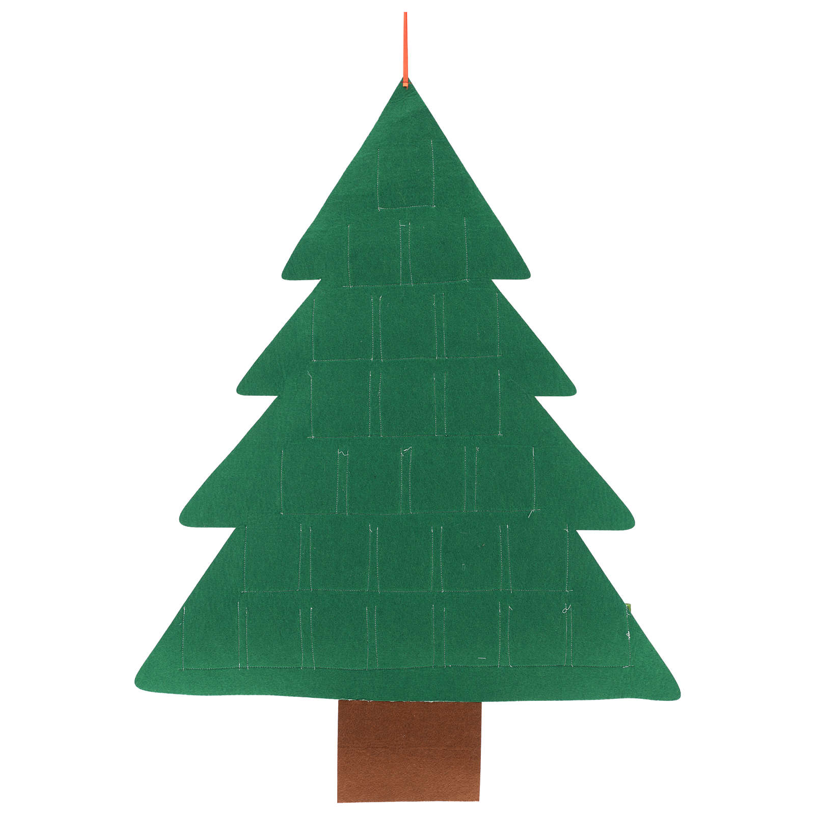 Advent Calendar 25 pockets Christmas tree 110 cm 3
