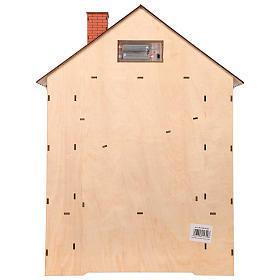 Calendario dell'Avvento in legno con cassettini 50x30x5 cm s6