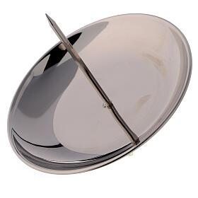 Pique laiton nickelé brillant 12 cm Avent s2