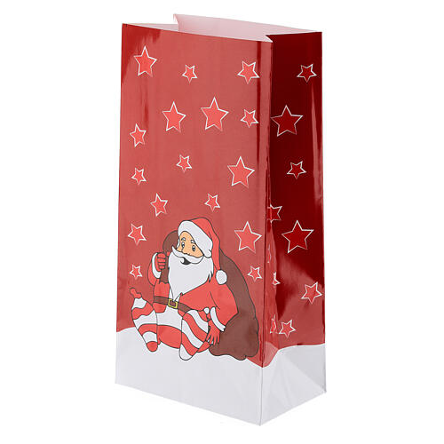 Advent Calendar bags and stickers 20x10 cm 2
