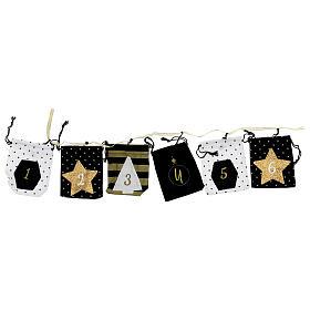 Advent Calendar cloth bags 10x12 cm s1