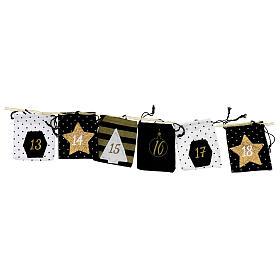 Advent Calendar cloth bags 10x12 cm s3