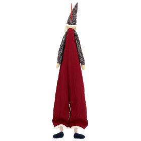 Advent Calendar Santa Claus in cloth s5