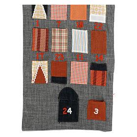 Calendario Avvento Casetta in stoffa s2